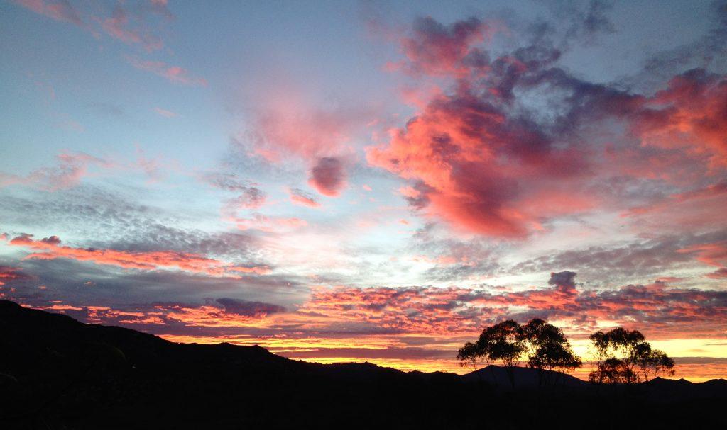 A beautiful sunset at Rancho Del Sol.