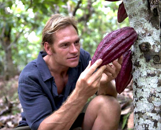 Darin Olien, superfood hunter.